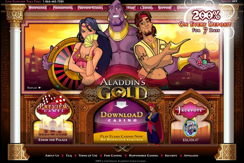aladdinsgold.com