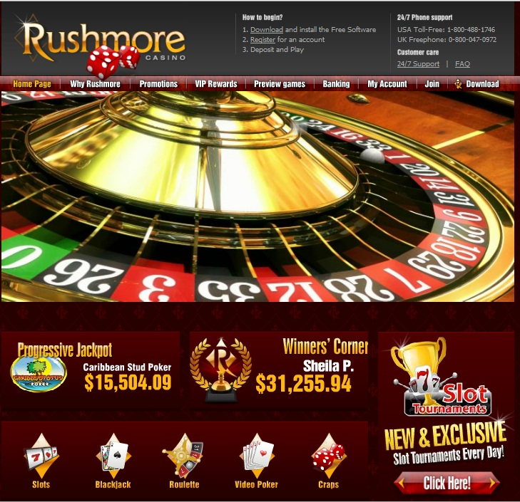 Rushmore Online Casino